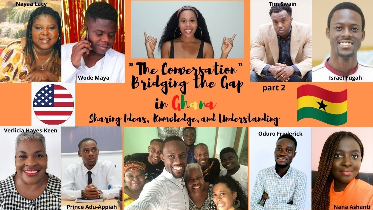Living in Ghana | Understanding Differences in Cultures | The Conversation pt. 2 Revision