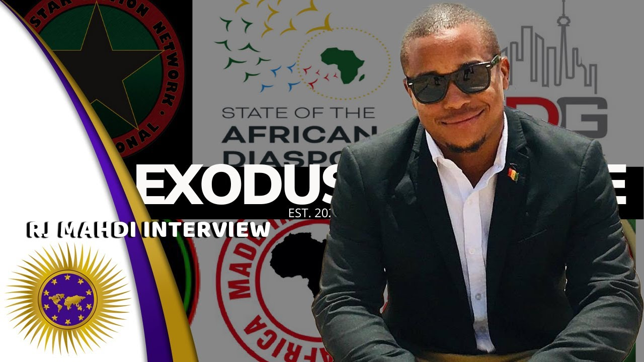 RJ Mahdi On Exodus Alliance, Dustiness In Africa & Expats Exploiting Black Americans